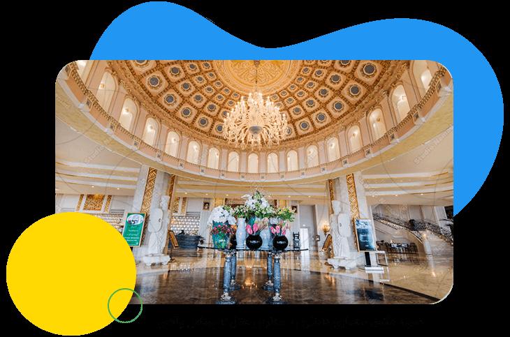 نمونه عکس معماری داخلی به سفارش هتل اسپیناس پالاس